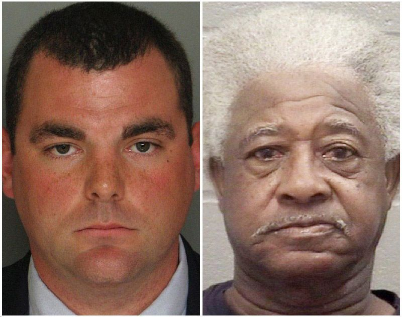 Ex-officer pleads guilty in shooting No prison term in elderly black driver's death, an S.C. case that put deadly force in spotlight