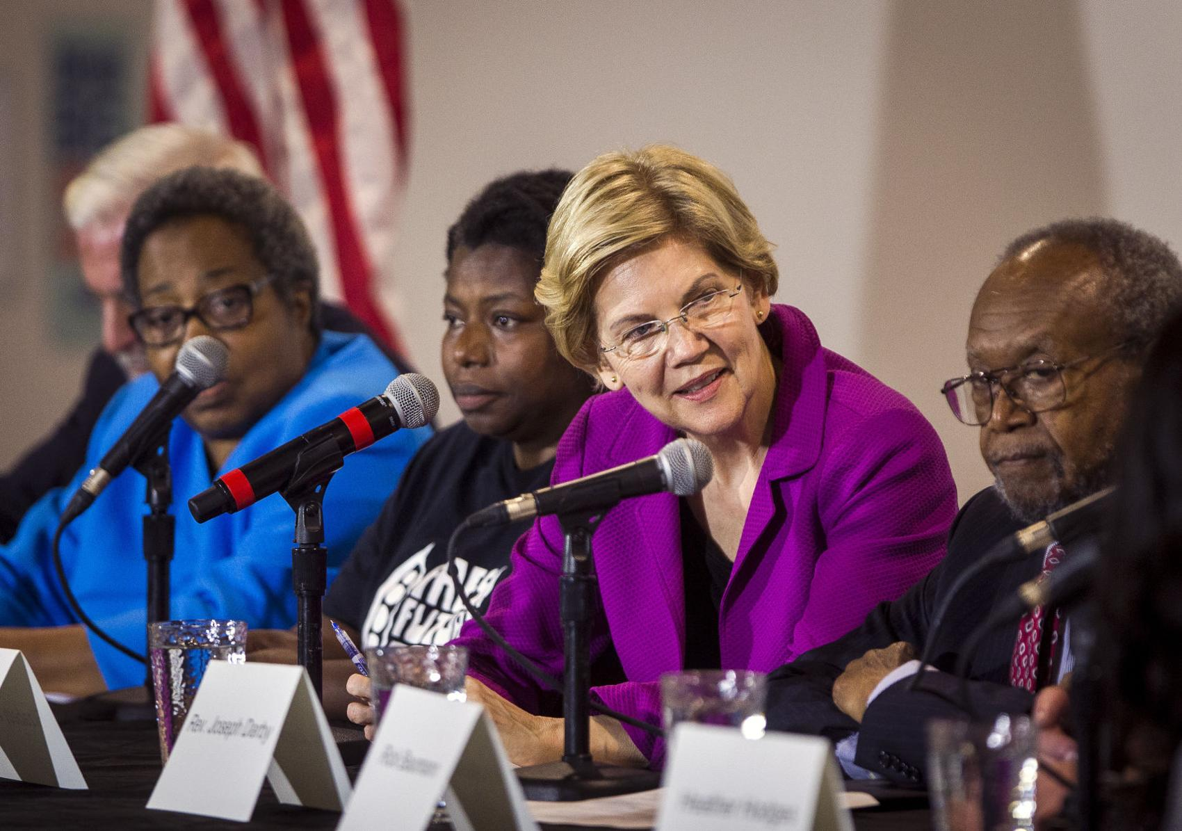 POST AND COURIER – Elizabeth Warren, Pete Buttigieg Surge