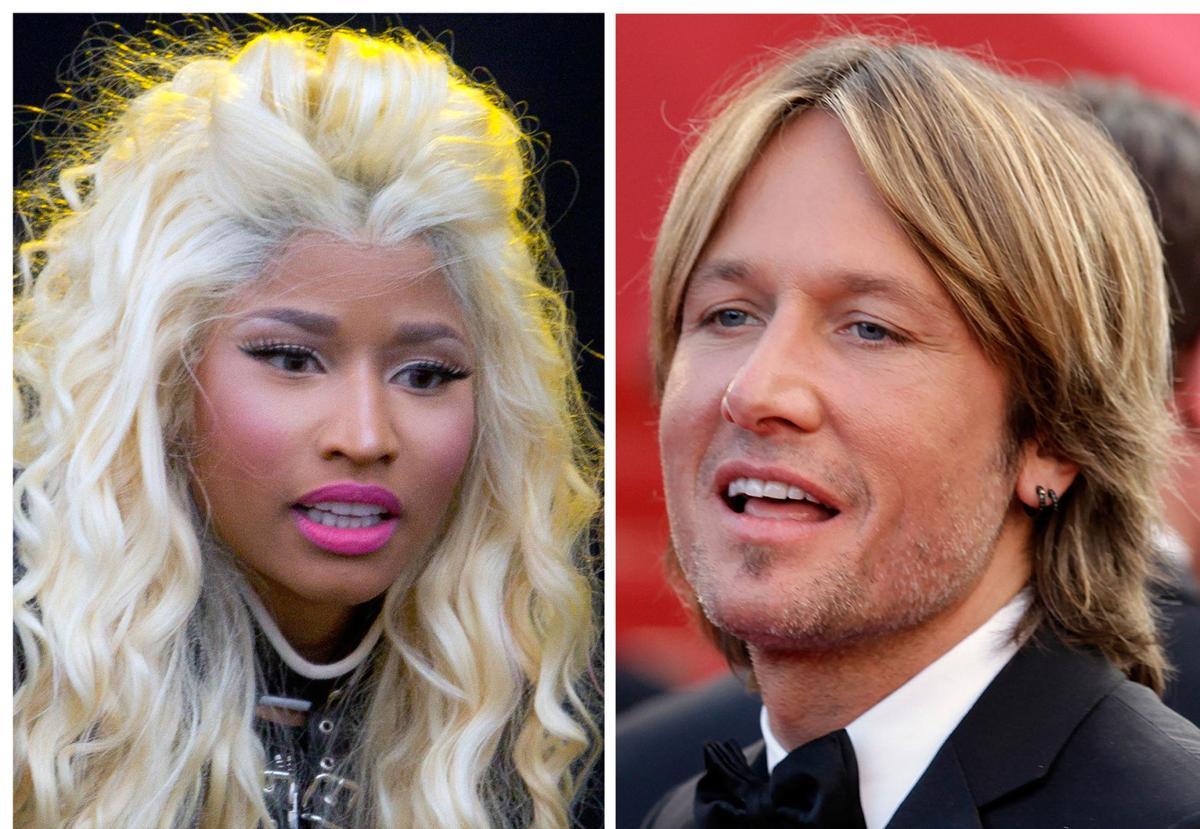 Minaj, Urban fill out panel of 'Idol' judges