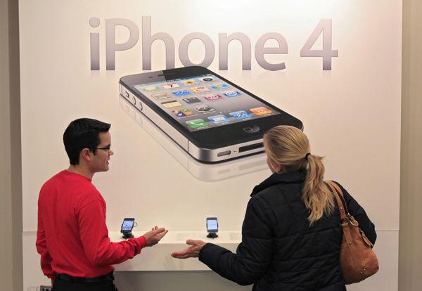 Verizon iPhone sales slow
