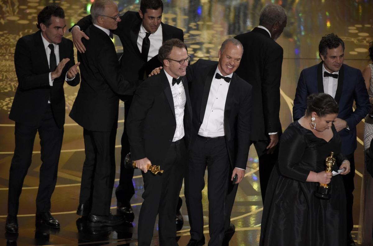 In an upset, 'Spotlight' wins best picture at Oscars