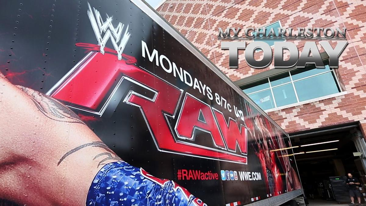 My Charleston Today: Excitement builds for WWE Monday Night Raw