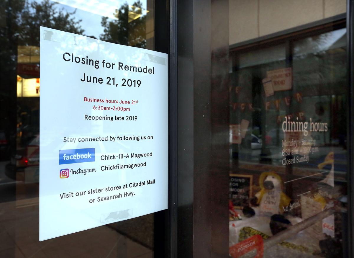 1 Charleston Chick-fil-A to close for demolition, rebuild