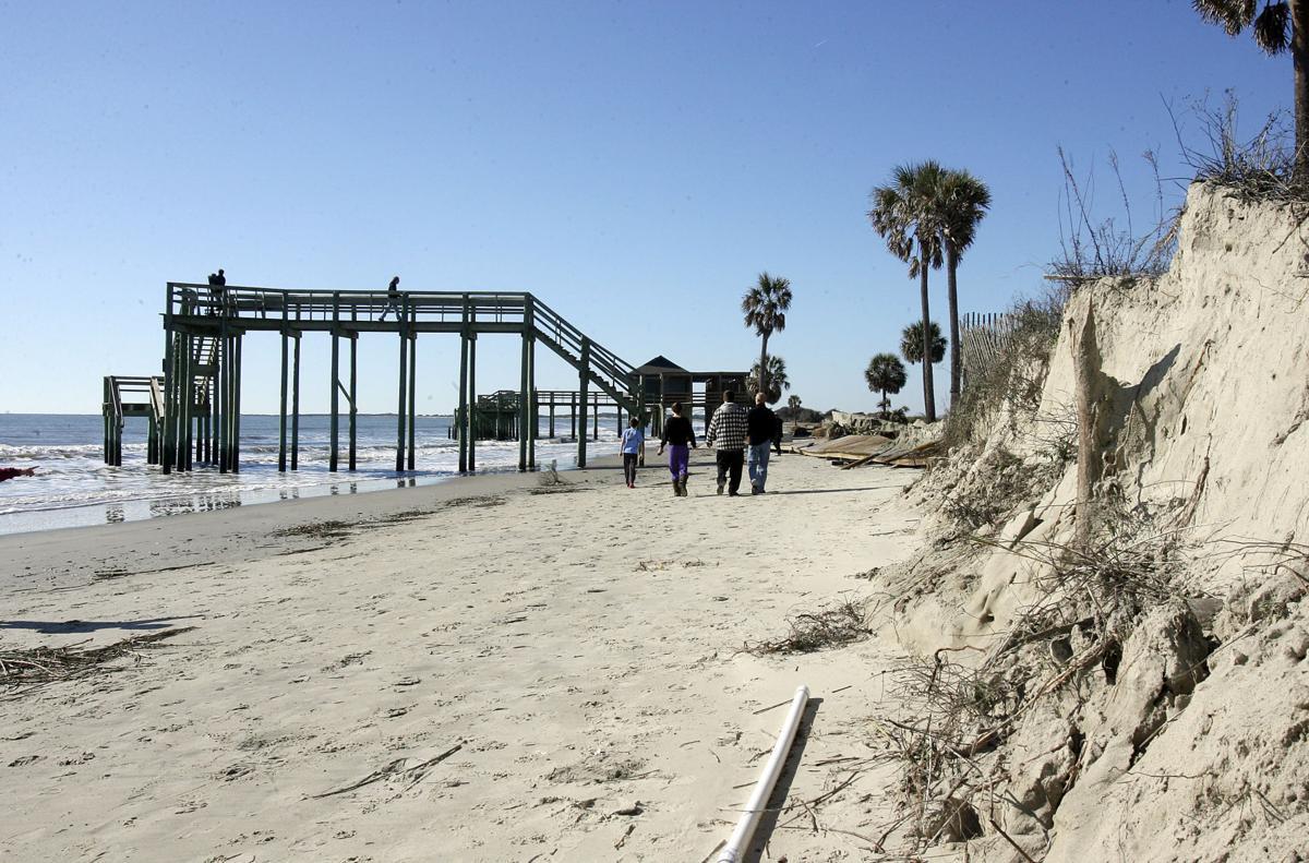Folly Beach County Park Erosion
