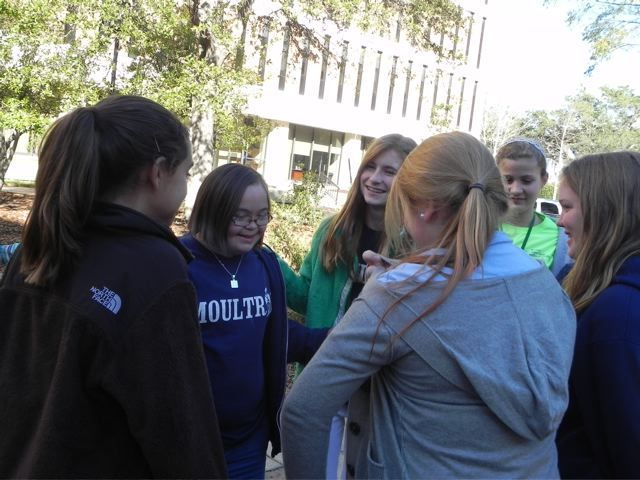 Students travel to MUSC Children's Hospital Magic Theater