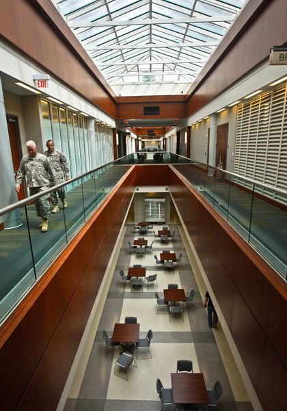 High-tech home toured: Third Army's headquarters being outfitted with top-secret technology