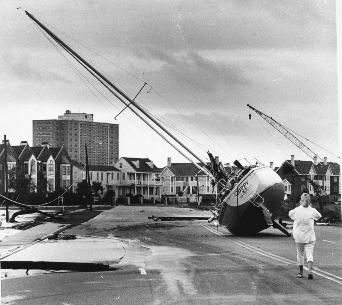 Charleston after Hurricane Hugo