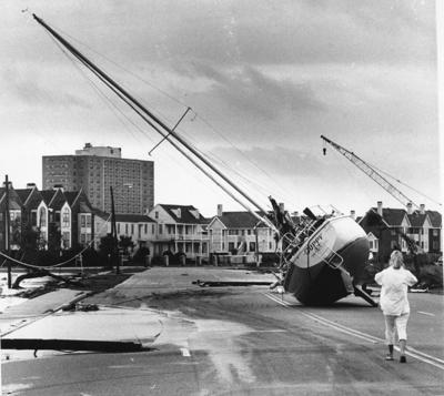 Charleston after Hurricane Hugo