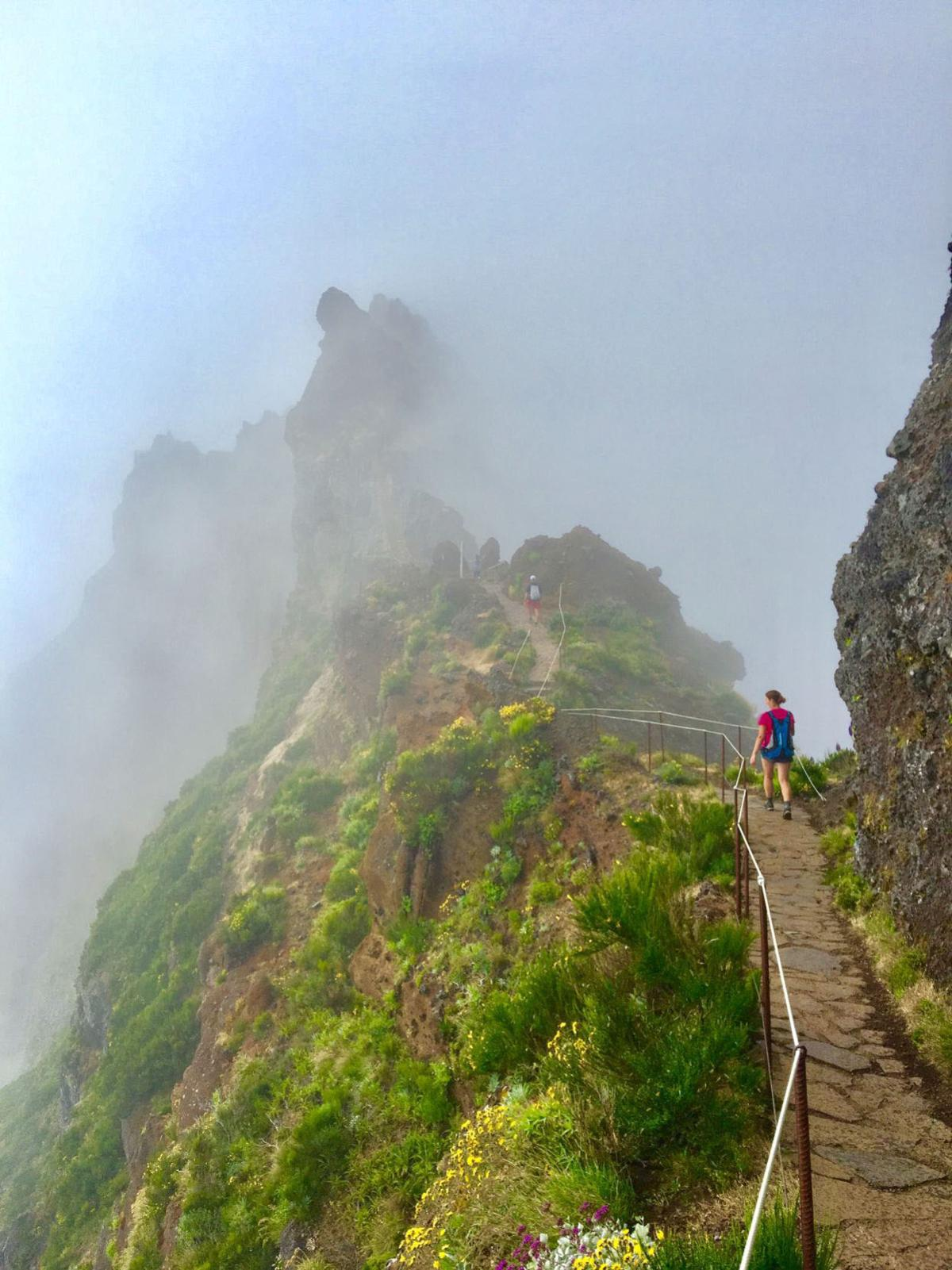 Stairway to Heaven in Madeira, Portugal