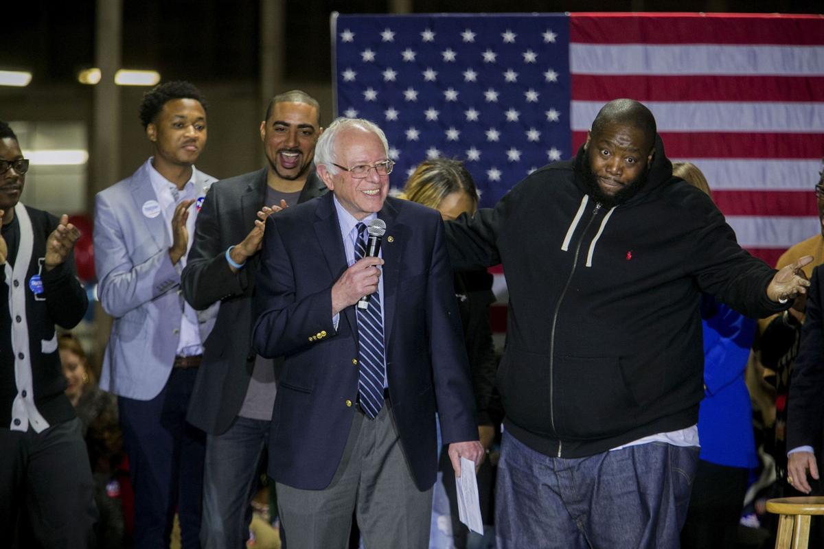 Sanders visits Claflin University
