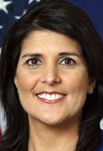 Gov. Haley to spend week in California