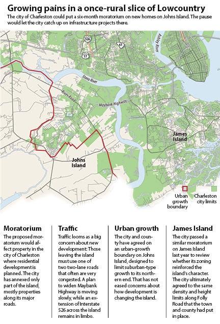 Charleston Could Halt Development On Johns Island For Months - Where is charleston