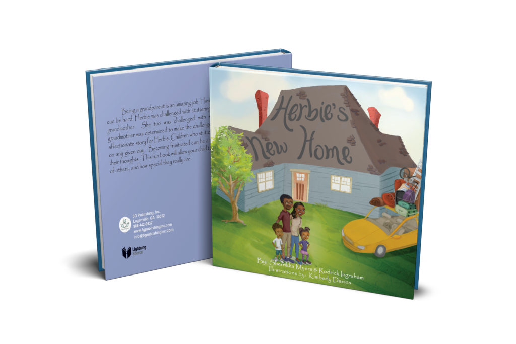 Author tackles speech impediments with Herbie series