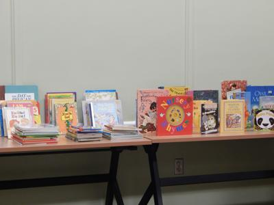 Donated children's books