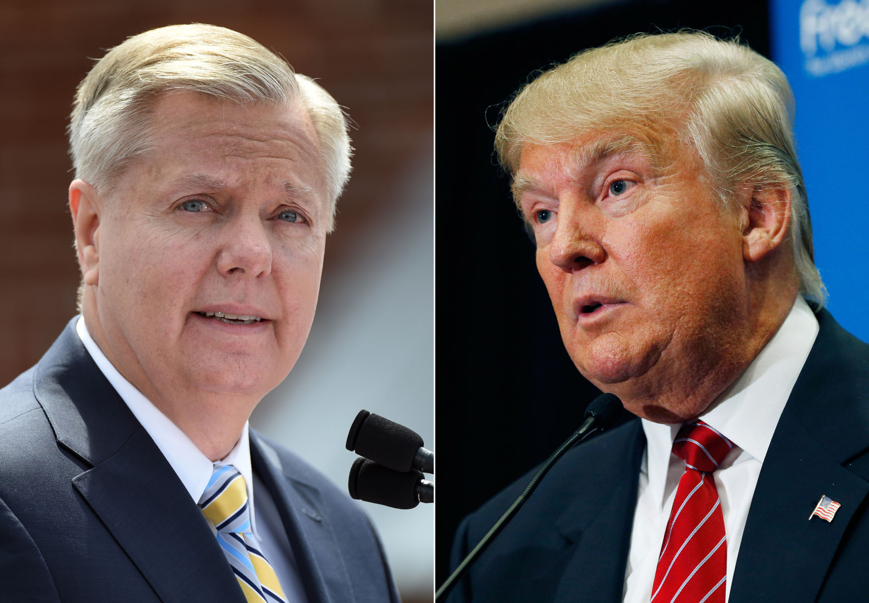 Trump Slams Sen. Graham For 'Disgusting Lie' On Charlottesville Statement