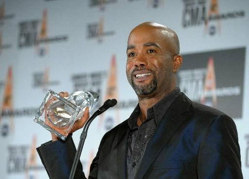 Charleston's own Darius Rucker takes new artist honors at CMA awards