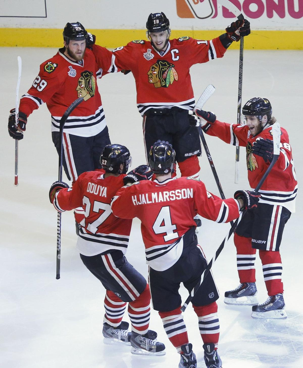 Blackhawks one win from Stanley Cup title