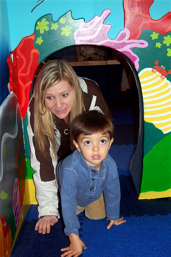 Toddler time at aquarium: Cove offers play area for the little ones