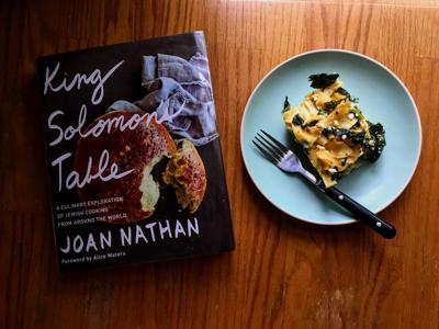 Joan Nathan King Solomon's Table and a collard kugel