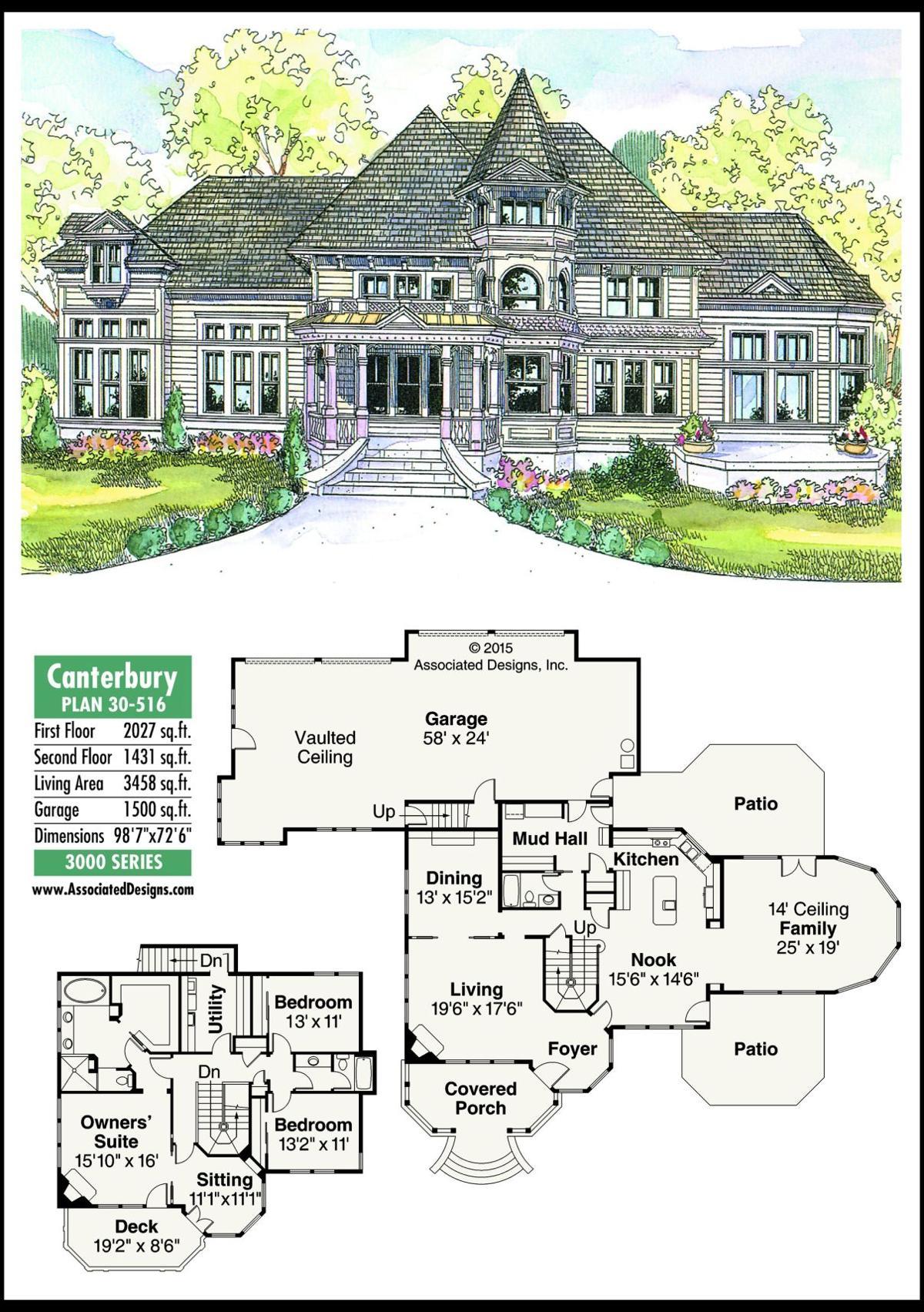 This week's house plan Canterbury 30-516