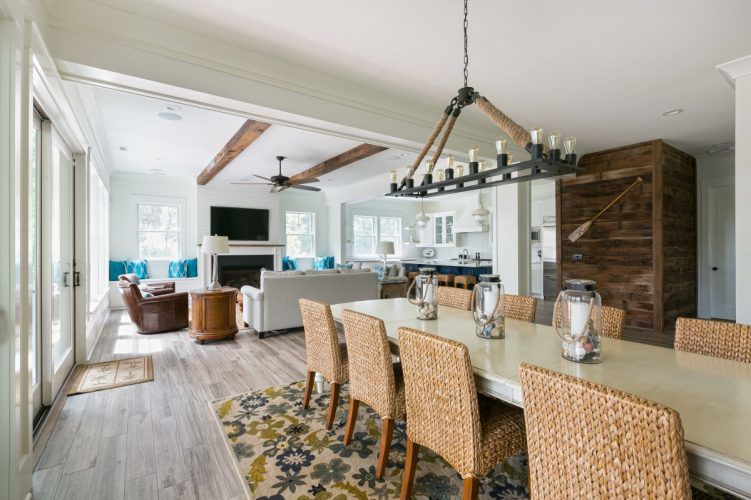 Dining and family rooms