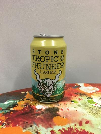 Stone Brewing's Tropic of Thunder