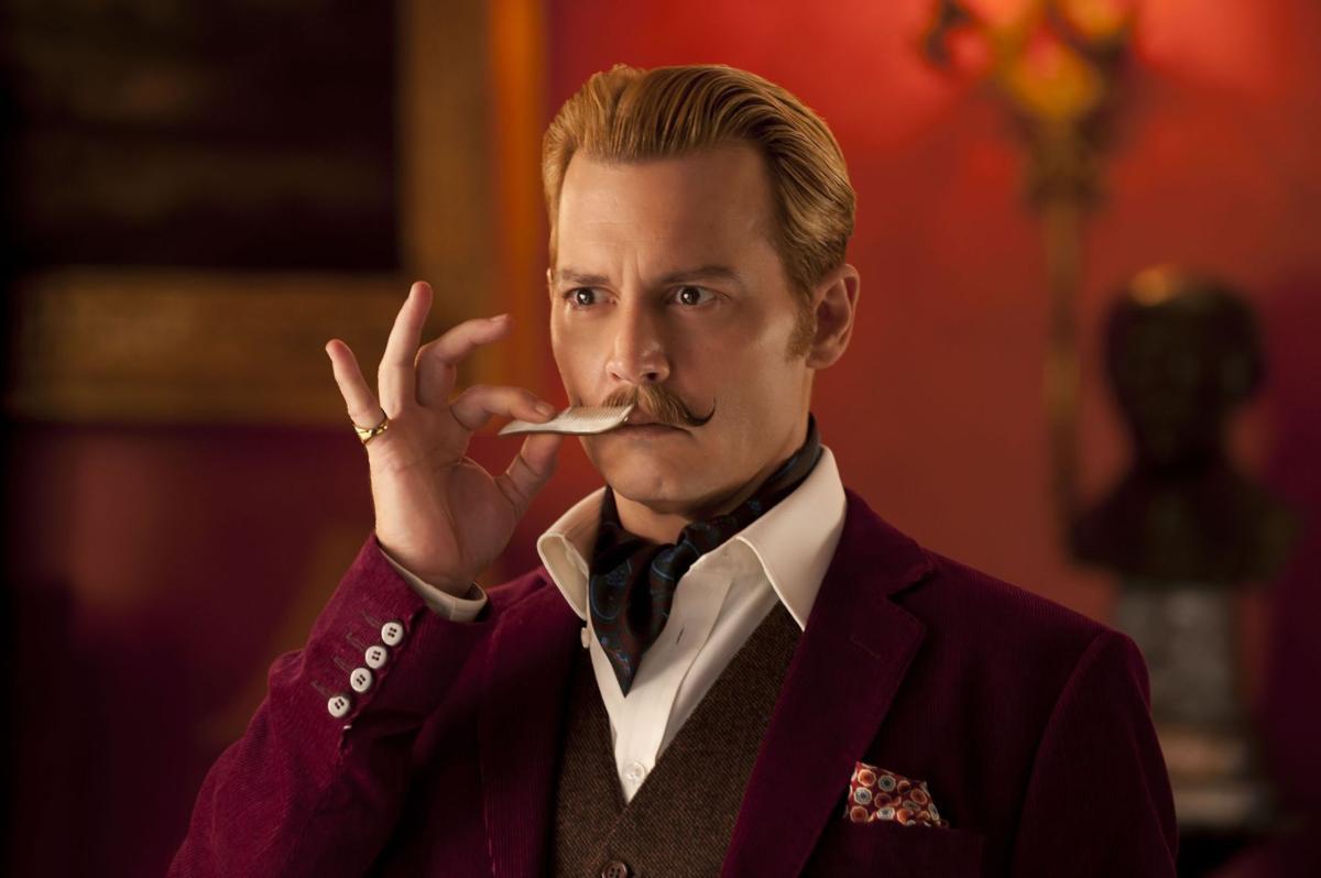 Depp indulges inner clown in charmless 'Mortdecai'