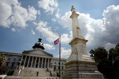 Haley says she won't violate law by temporarily removing Confederate flag