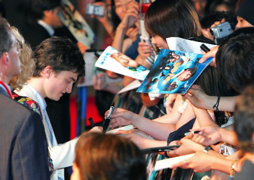 Potter flick world premiere bewitches Japanese audience