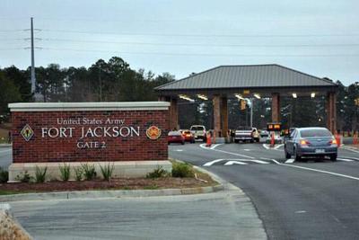 Fort Jackson entrance