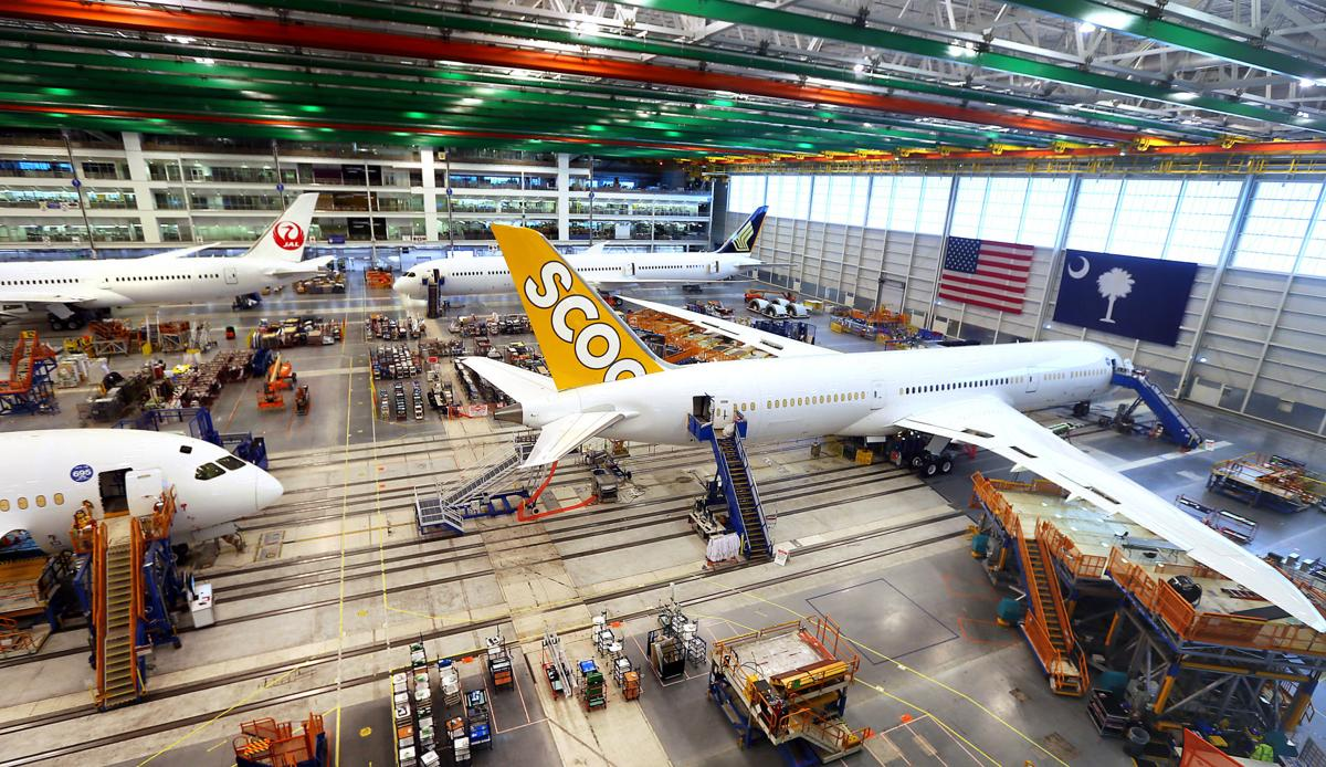 FAA keeping close watch on production issues at Boeing's SC