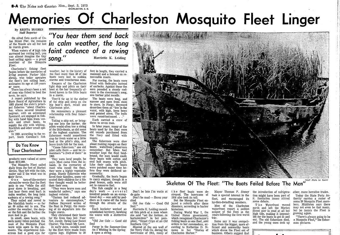 Mosquito fleet 1