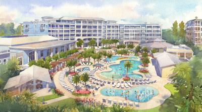 SC island resort starts construction on new hotel, ocean view