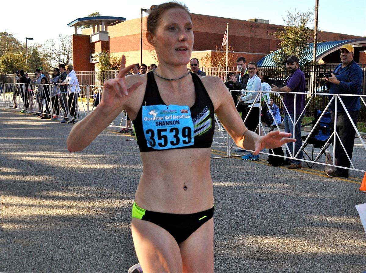 Charleston Marathon Half Marathon Winner Shannon Miller