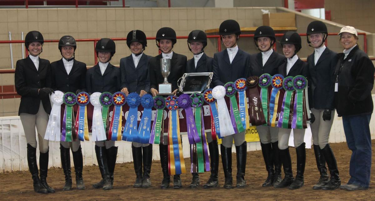 Equestrians capture title
