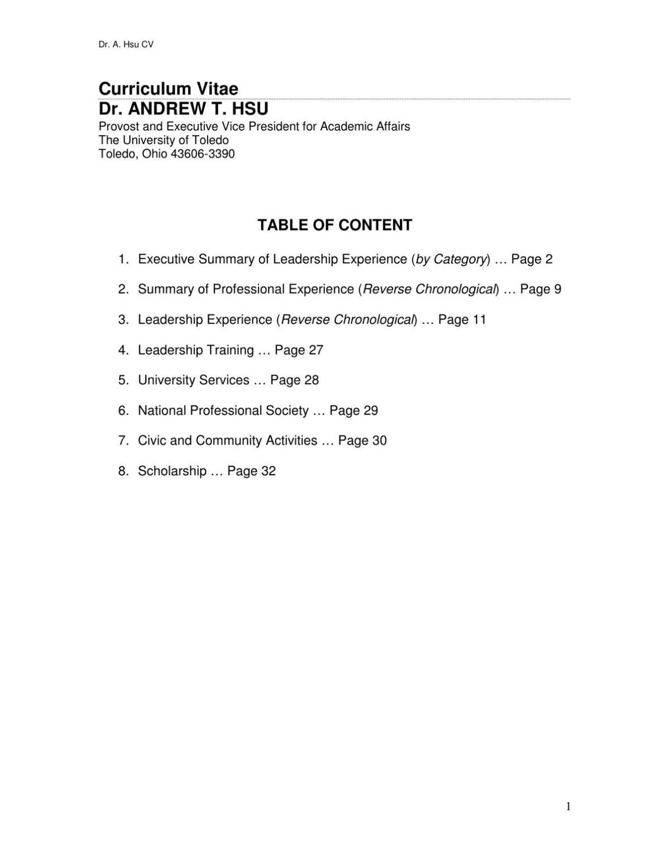 Andrew T Hsu Curriculum Vitae Postandcourier Com