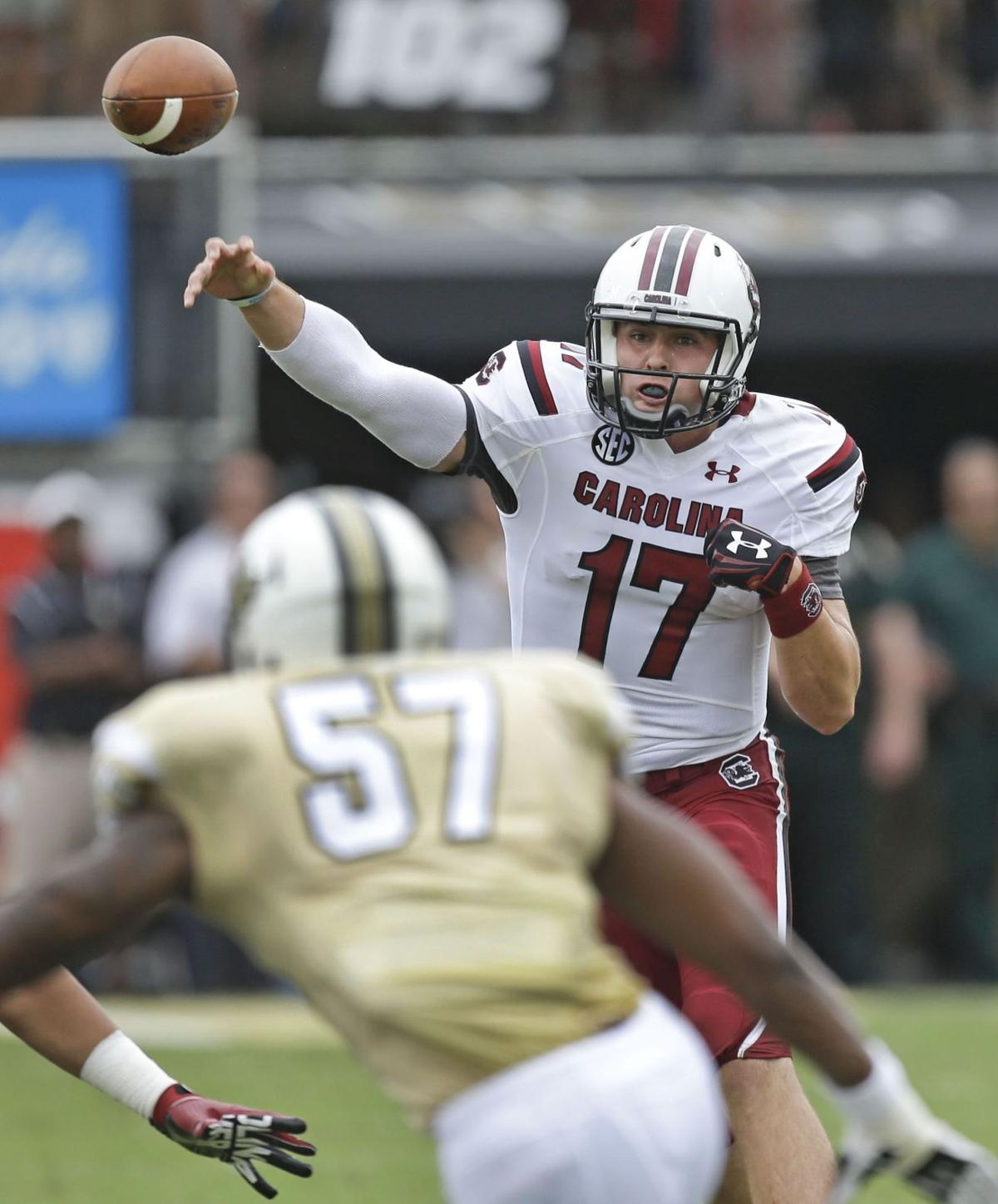 Spurrier on Dylan Thompson: 'He's without question going to be our quarterback'