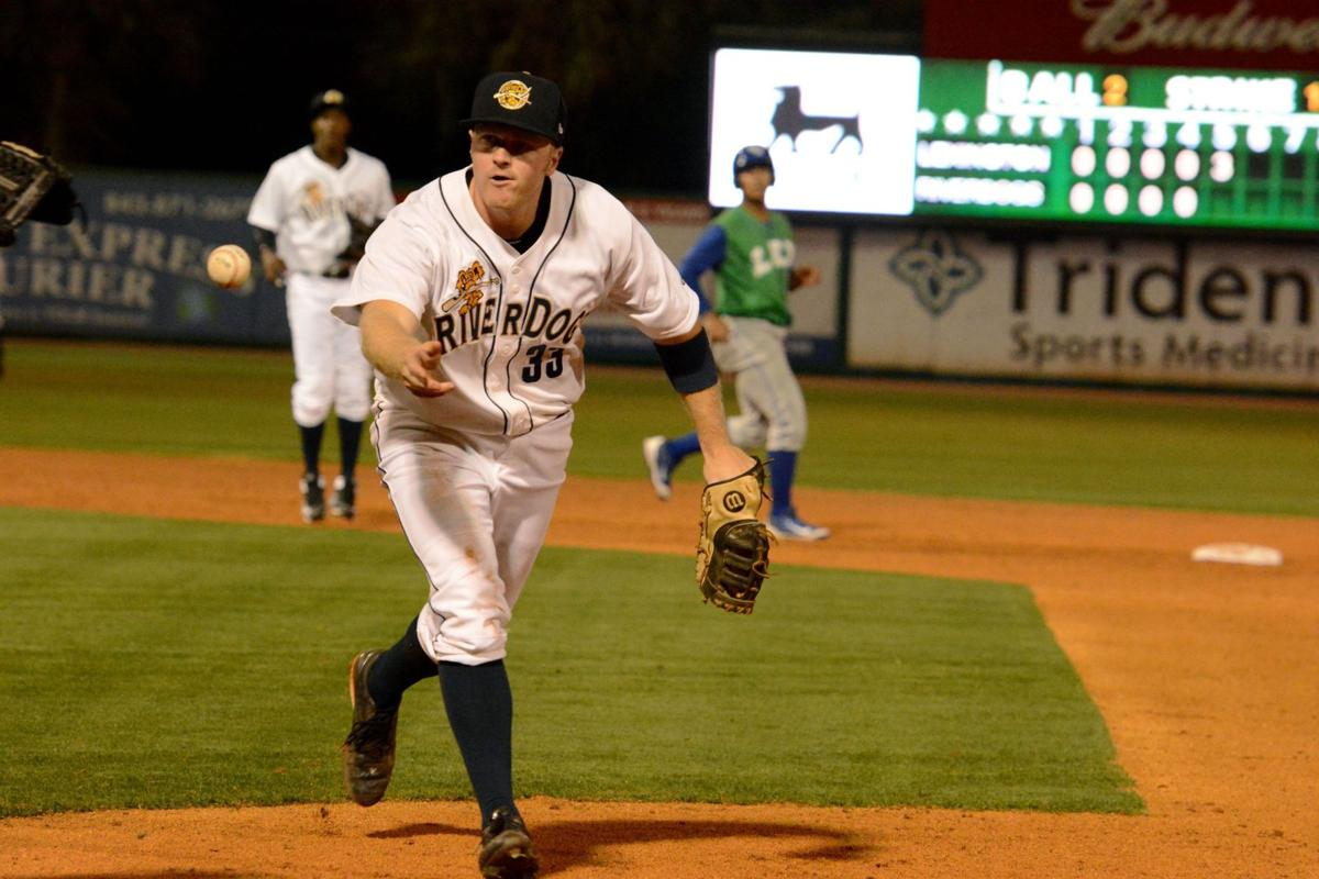 RiverDogs' Connor Spencer picked for South Atlantic League All-Star Game