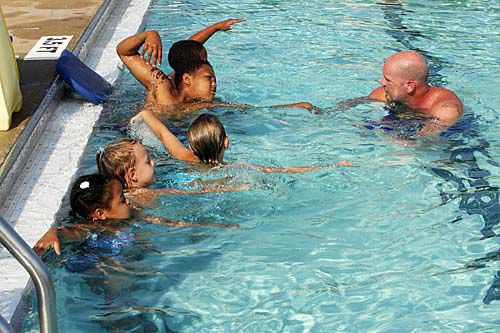 Learners fill the pools