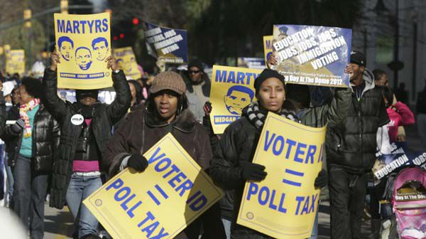 SC rally marks MLK day with voting rights message