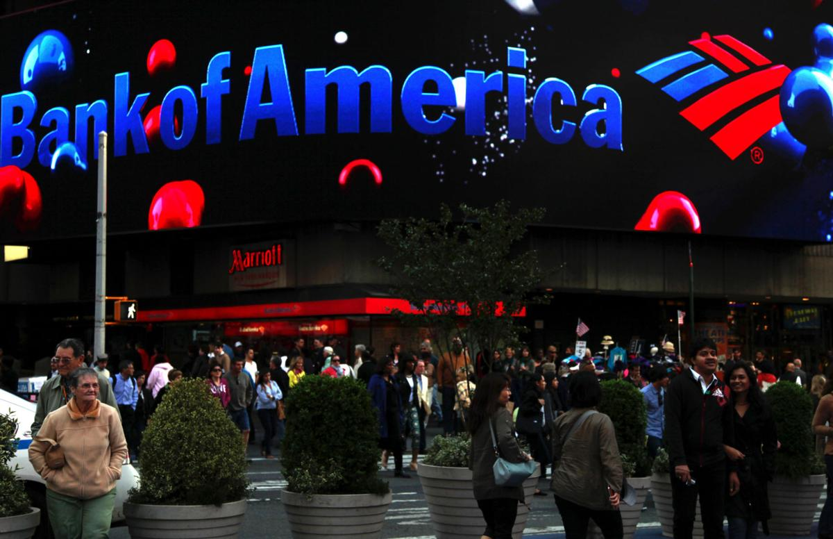 Bank of America swings to profit; mortgages cast long shadow
