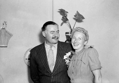 Rare Hemingway items on display at JFK library