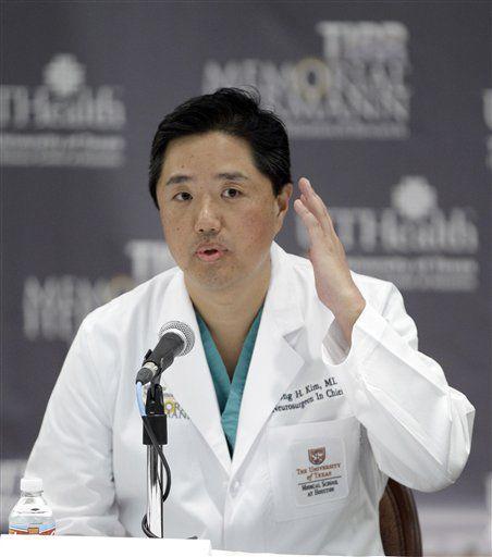 Doc: 'Gorgeous Gabby' awake after skull surgery