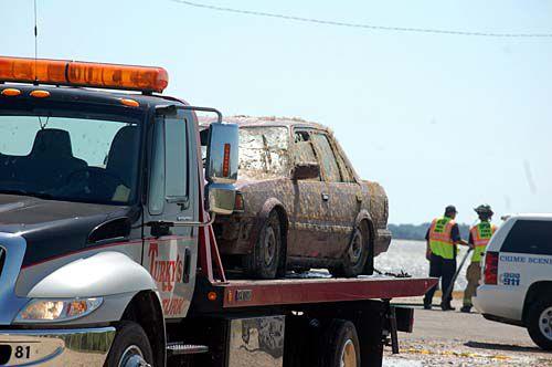 Body found in car