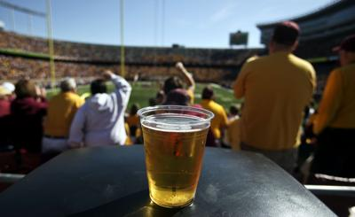 More schools are mixing beer, football at stadiums