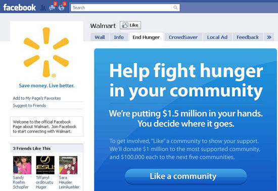 We're No. 5 in anti-hunger vote