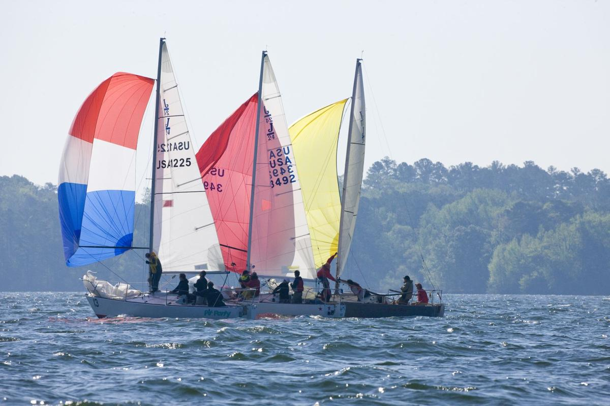 Lake Murray sailboats