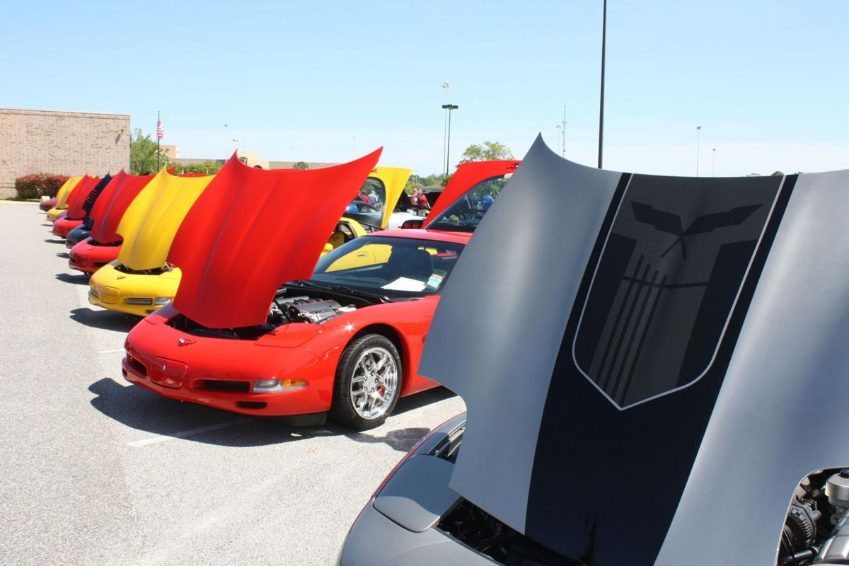 All-Corvette car show April 16 attracts sizable audience to Citadel Mall