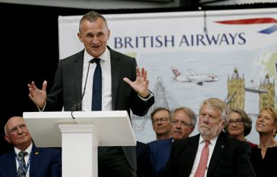 British Airways' nonstop flights from Charleston to London will return in 2020