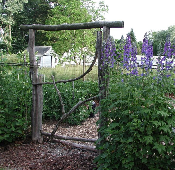 A good gate makes a good garden; rot resistance mandatory